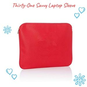 Thirty One Savvy Laptop Sleeve - Retired